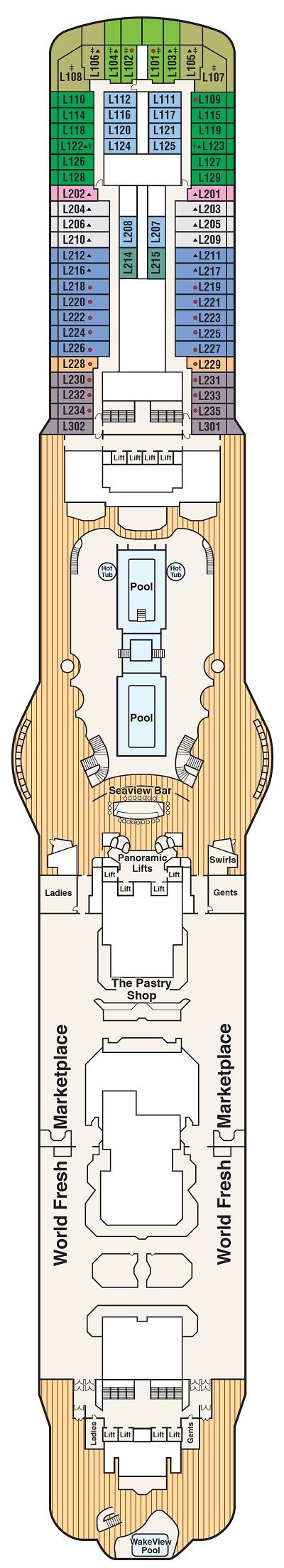 Deck 16 - Lido