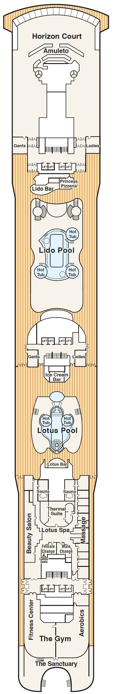 Deck 14 - Lido