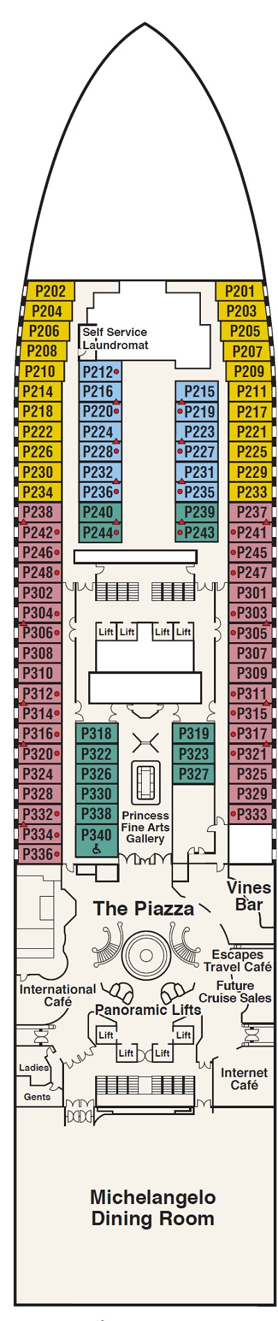 Deck 5 - Plaza