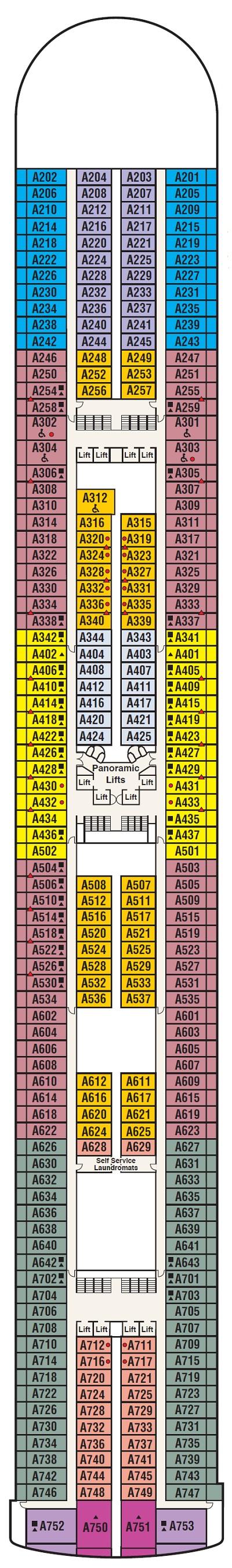 Deck 12 - Aloha