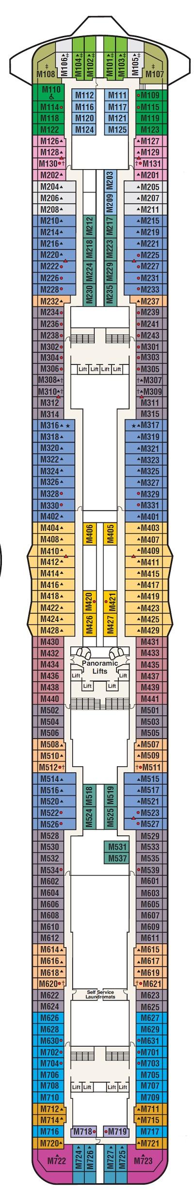 Deck 15 - Marina (starts 4-14-19)