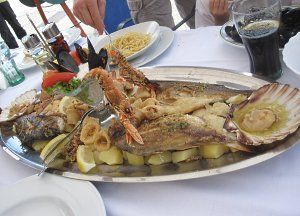 Seafood Lunch in Rovinj