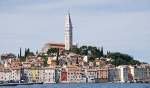 Rovinj, St. Euphemia Cathedral and Bell Tower