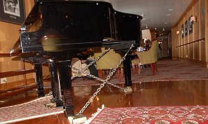 Piano Chained to the Floor