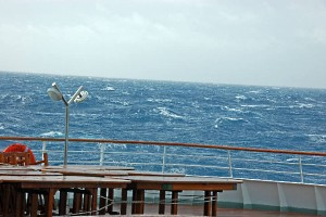 Sailing into Drake Passage