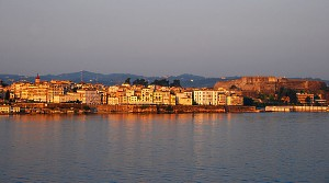 Corfu at Sunrise