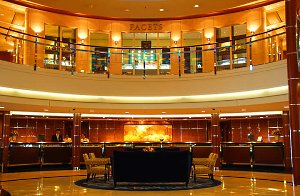 Onboard the Crystal Serenity