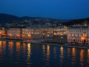 Trieste at Night