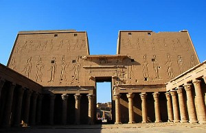 Temple of Horus in Edfu