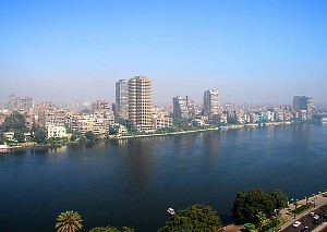 View of Nile from Hotel