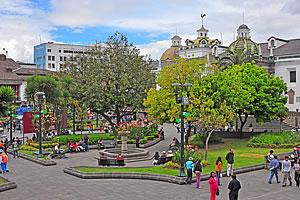 Park in Quito
