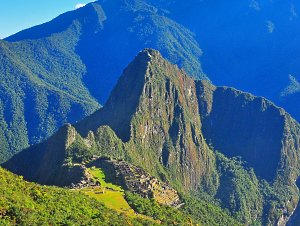 From Summit of Montaña Machu Picchu