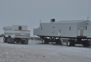 Polar Rover and Tundra Lodge