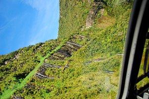 Waterfalls Plunging Sideways