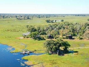 Okavango Delta near Eagle Island