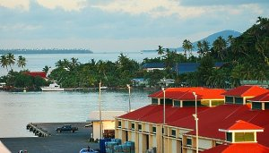 Docked in Raiatea