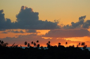 Raiatea sunset