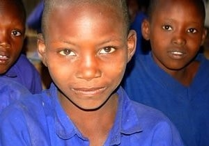 Maasai Schoolchildren