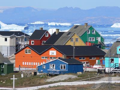 Ilulissat (Jakobshavn), Groenland