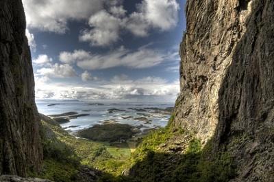 Île Torghattaen, Norvège