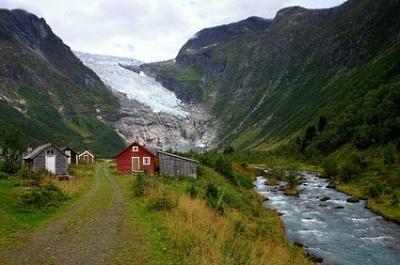 Fjaerland, Norvège