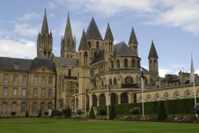 Caen, en France