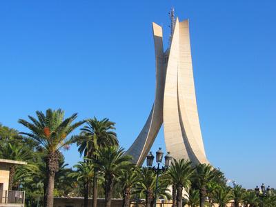 Alger, en Algérie