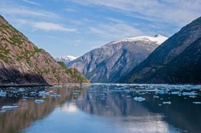 Tracy Arm (Twin Sawyer Glaciers), AK