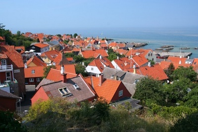 Ronne, l'île de Bornholm, Danemark