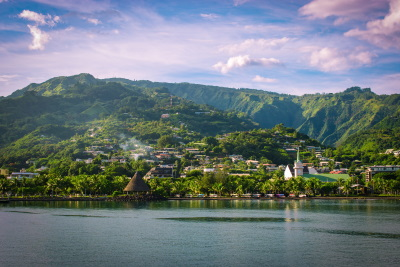 Papeete, Tahiti, Society Islands