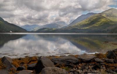 Lago Holy, Argyll e Bute, Escócia