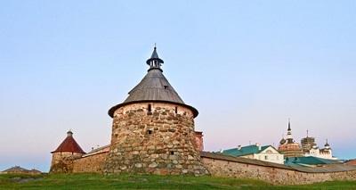Îles Solovetsky, Russe