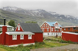 Seydisfjordur, Islandia