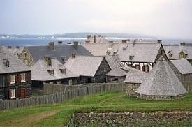 Louisbourg, Ilha Cabo Breton, NS, Canadá