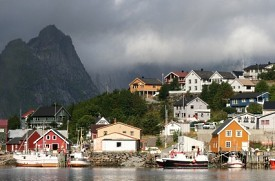 Leknes, Islas Lofoten, Noruega