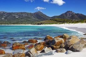 Baía de Wineglass, Tasmânia