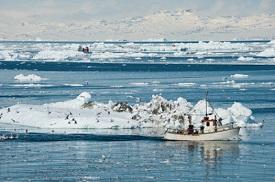 Upernavik Fjord, Groenlandia