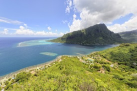 Opunohu, Moorea, Polinesia Francesa