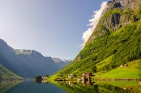 Naeroyfjord, Noruega