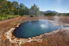 Proliv Senyavina Hot Springs, Russia