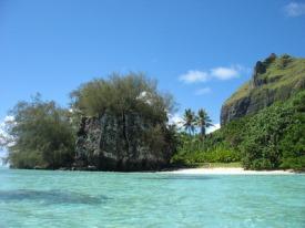 Motu Vaiamanu, Raivavae, Polinesia Francesa