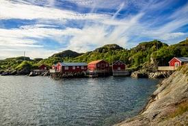 Nusfjord, Noruega