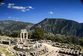 Delphes (Galaxidhi), Grèce