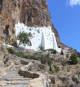 Amorgos, en Grèce