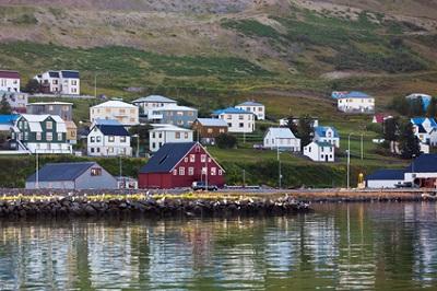 Siglufjordur, Islande