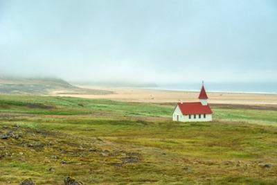 Île de Vigur, en Islande