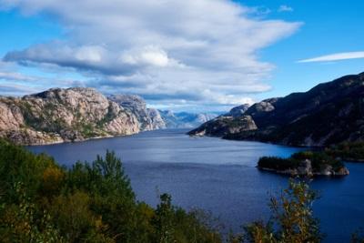 Lysefjord, Norvège