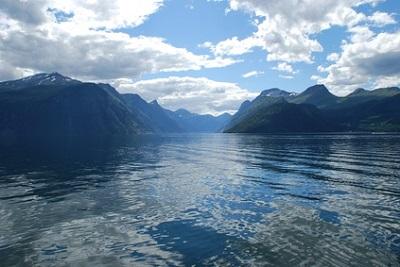 Sunnylvsfjorden, en Norvège