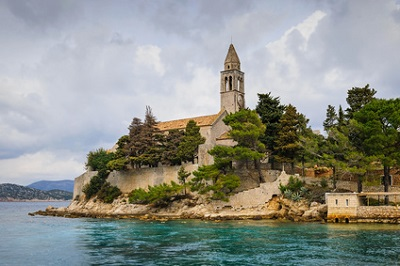 Île de Lopud, Croatie