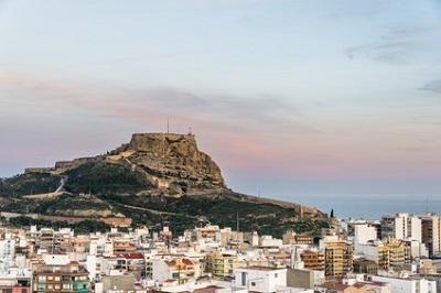 Denia, en Espagne
